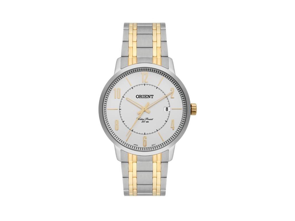 c4d9c5b49c4 Relógio Orient Prata E Dourado Masculino - R  559