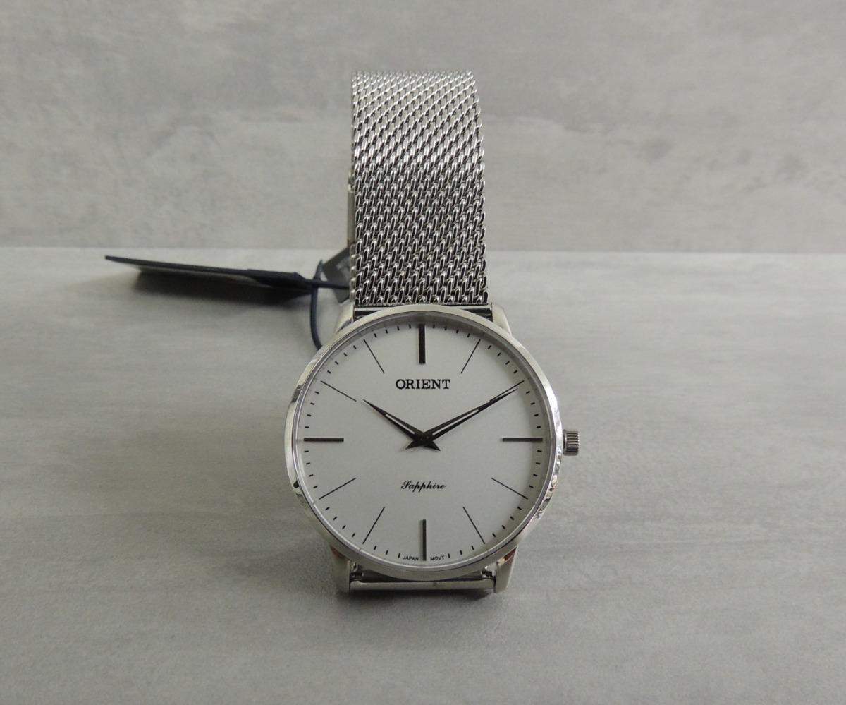 67036387e05 relógio orient sapphire slim masculino mbsss007 s1sx - nf. Carregando zoom.