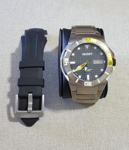 relógio orient seatech automático 469ti002 p1px