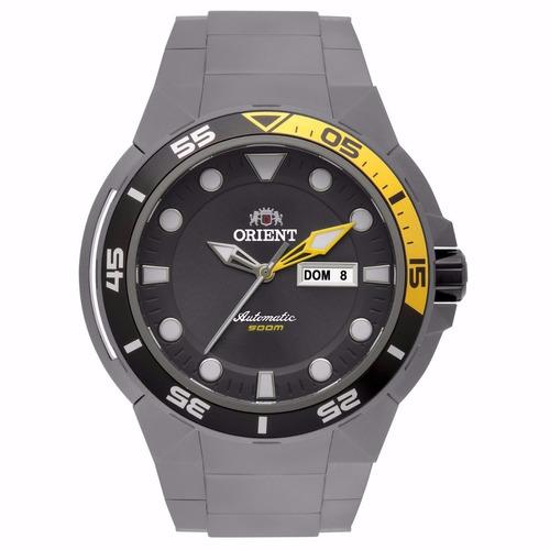 relógio orient seatech automático mergulho 500m 469ti003