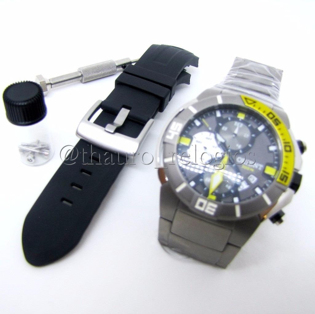 3c02566c0b4 relógio orient seatech titanium mbttc003 de mergulho 300m. Carregando zoom.