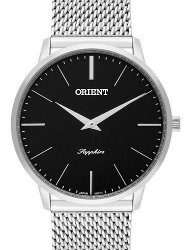 relógio orient slim masculino - mbsss007 p1sx