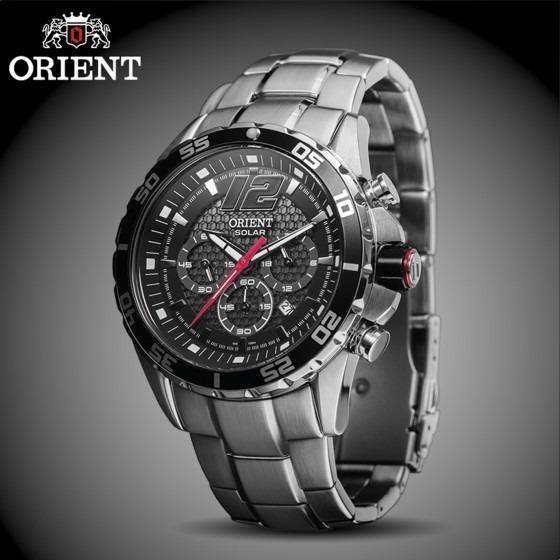 cbba1c4bd1a Relógio Orient Solar Mbssc094 Masculino - Loja - R  699