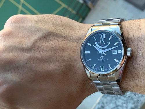 relógio orient star power reserve automatic re-au0004b00b