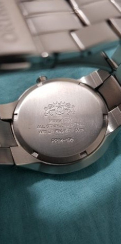relógio orient unissex branco
