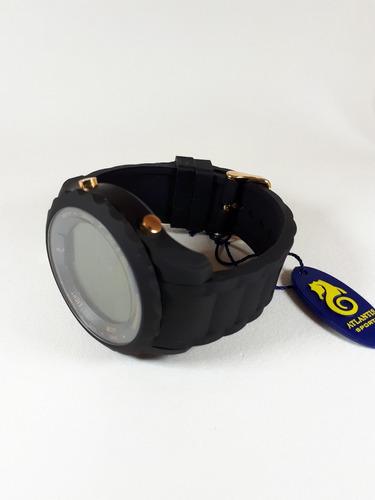relógio original atlantis masculino qualidade borracha macia