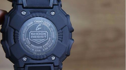 relógio original casio g-shock gx56 energia solar gx-56bb-1a