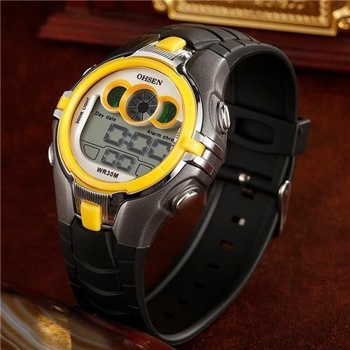 relógio original infantil ohsen prova d'água modelo 0739