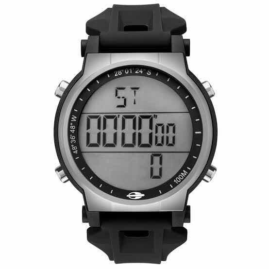 Relógio Original Mormaii Nautique Mo3577a 8k - R  100,00 em Mercado Livre dee43bb8b2