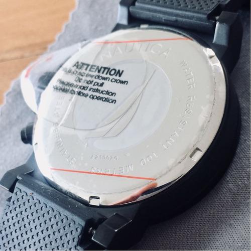 relógio original nautica a21007g