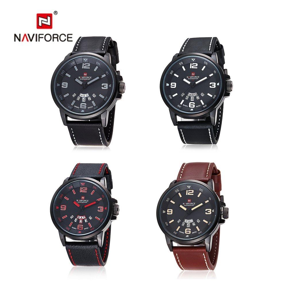 9cd08145007 relógio original naviforce modelo 9028. Carregando zoom.