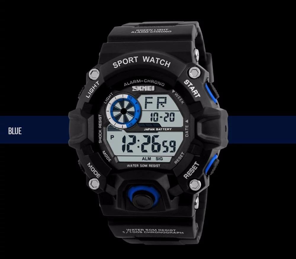 99dd71c5351 relógio original skmei estilo cassio g-shock preto promoção. Carregando  zoom.