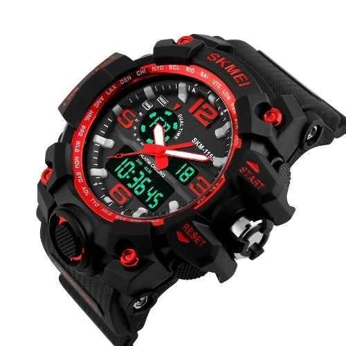 d4ed07d1bc1 Relógio Original Skmei Modelo 1155 Prova D água Top Relógio - R  220 ...