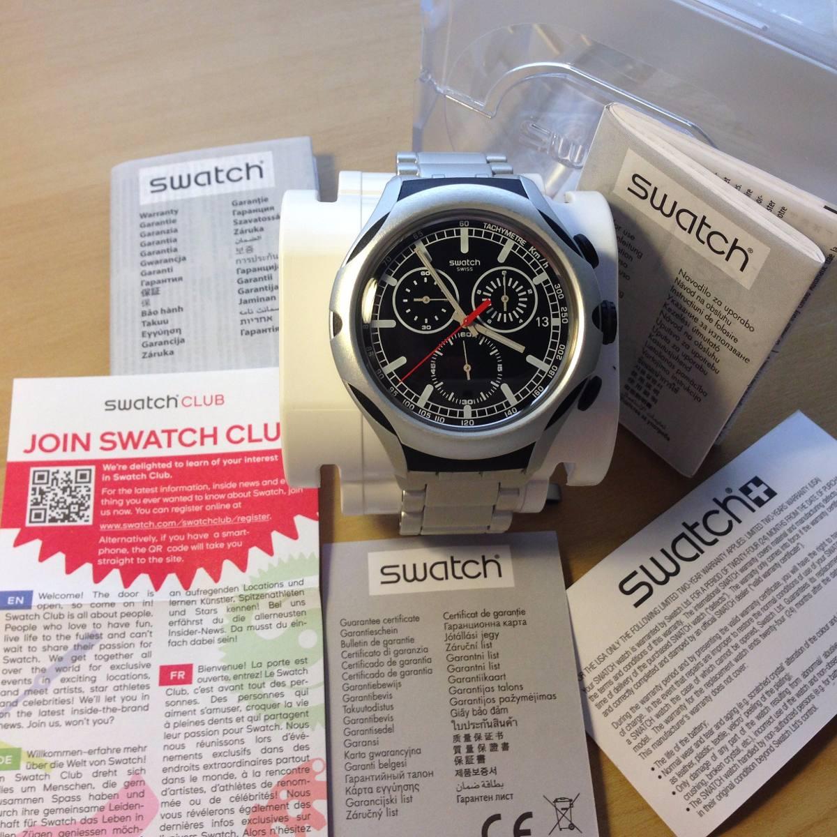 b5887d4649d Relógio Original Swatch - Irony X Lite. Novo