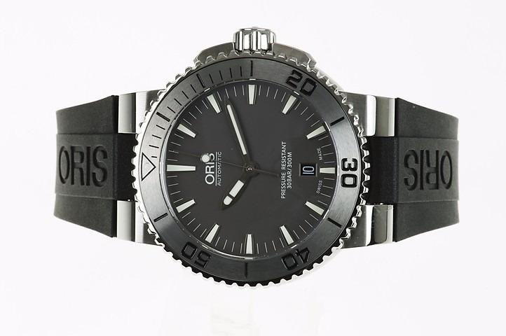 61baa065462 Relógio Oris Aquis Date Automatic 733-7653-4153 Swiss - R  6.299