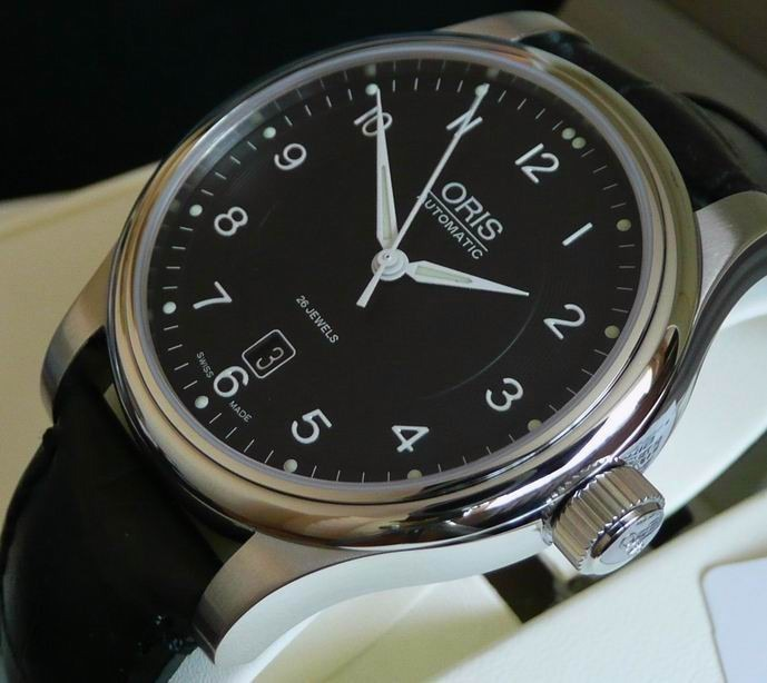 90d0b8b571a Relógio Oris Classic Date Automatic 733-7594-4064 Swiss Made - R ...
