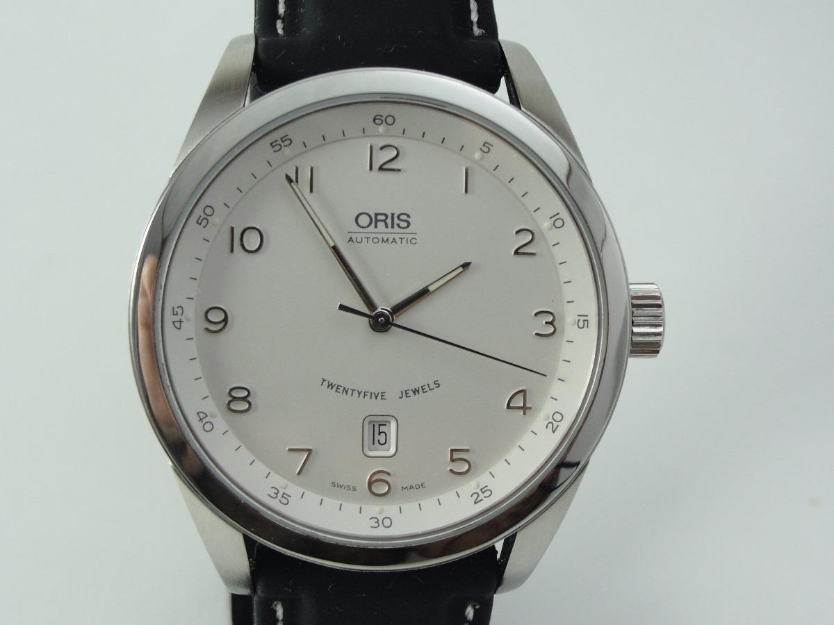 c338fd673d1 relógio oris - classic x x l date - automático - original. Carregando zoom.