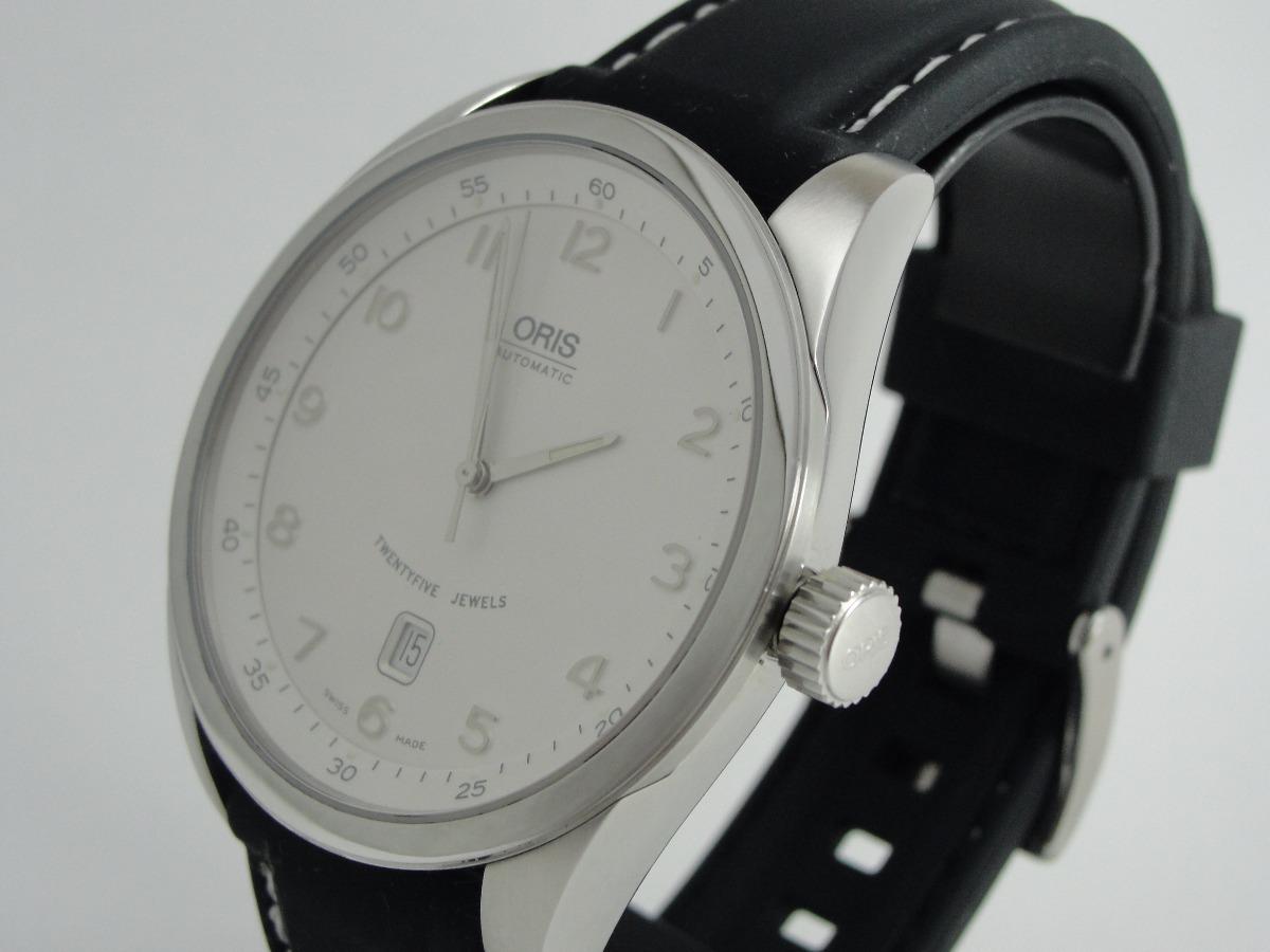 f3eb7e2a815 relógio oris - classic x x l date - automático - original. Carregando zoom.