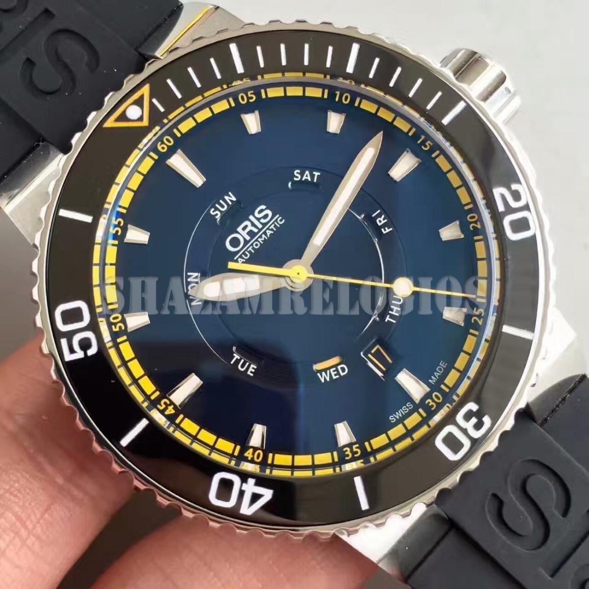 b2eaacf88aa Relogio Oris Diver Greatbarrier Reef Limited Edition 47mm - R  2.585 ...