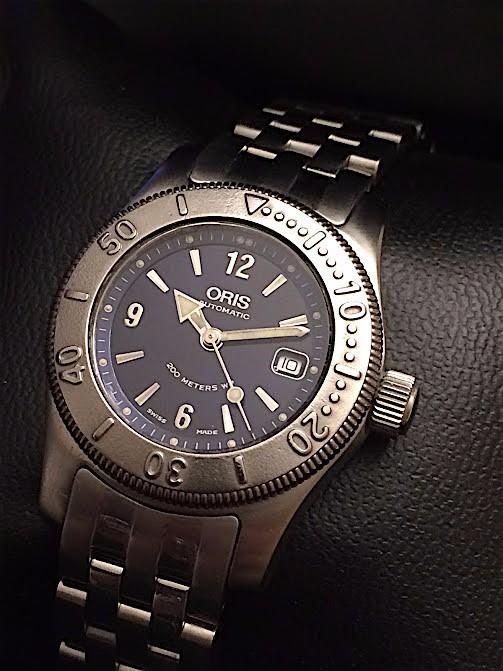 9182cd36ca4 Relógio Oris Ladies Big Crown Automatico Diver 200m Rigmary - R ...