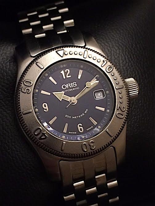 ea66c20816a Relógio Oris Ladies Big Crown Automatico Diver 200m Rigmary - R ...