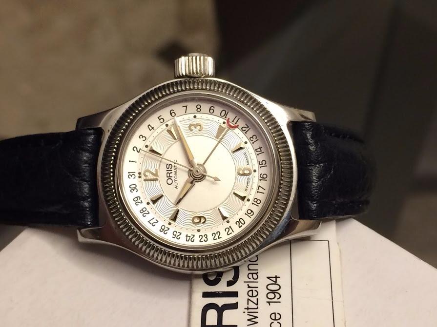 f2746ee0ad4 relógio oris ladies big crown automático f1 williams rigmary. Carregando  zoom.