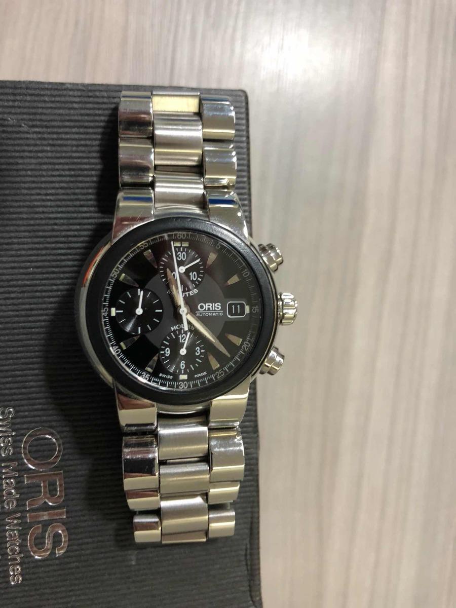 8e66b4d83a0 relógio oris tt1 chronograph 7521. Carregando zoom.