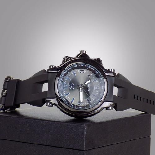 relógio orizom borracha original spaceman