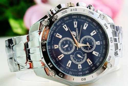 a103efbce28 relógio orlando azul masculino pulseira de aço frete gratis · relógio  orlando masculino
