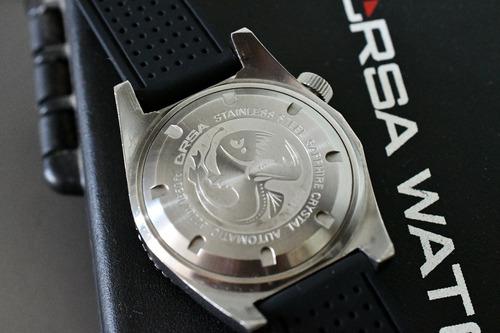 relógio orsa sea viper - diver - automático  - show