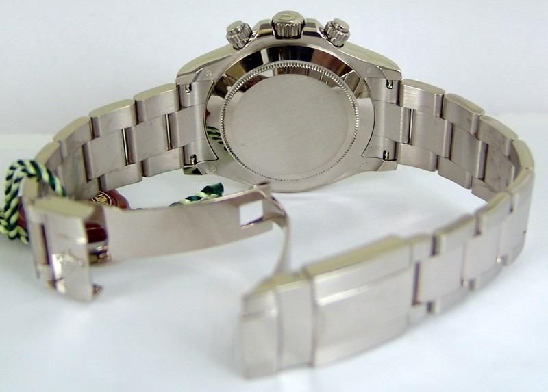 2ff006c1fc5 relógio ouro branco 18k daytona + caixa e documentos. Carregando zoom.