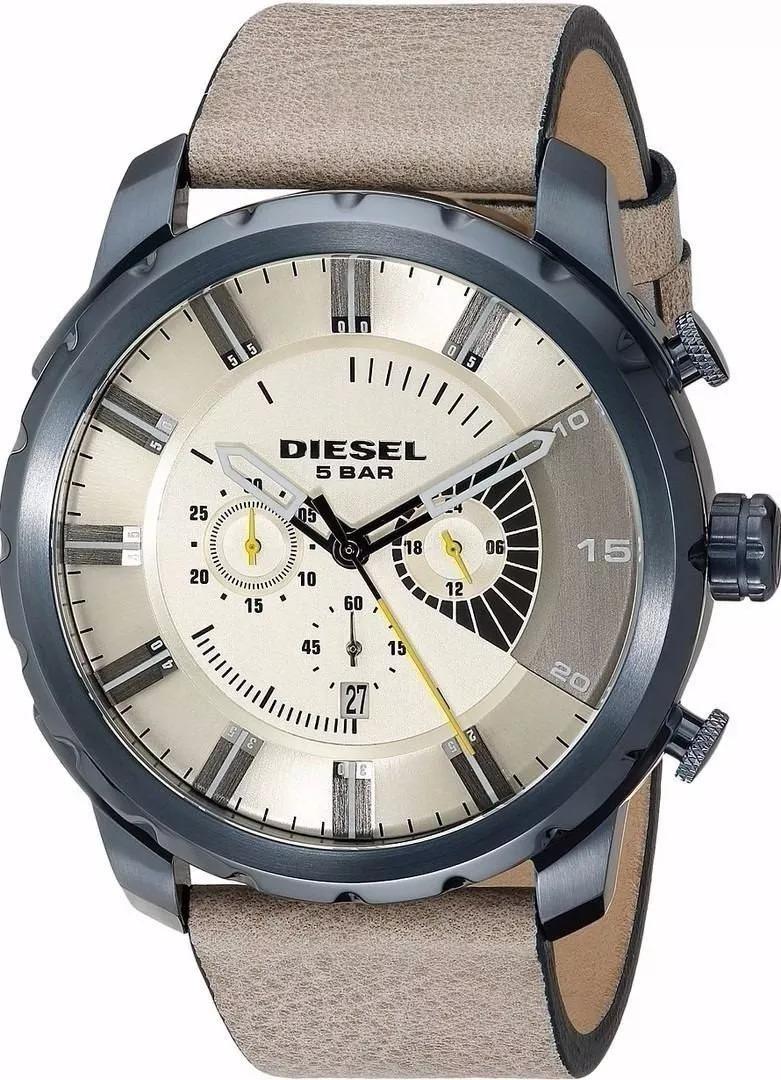 0147e3adb62 Relógio Pa2280 Diesel Dz4354 Branco Caixa Manual Promocional - R ...