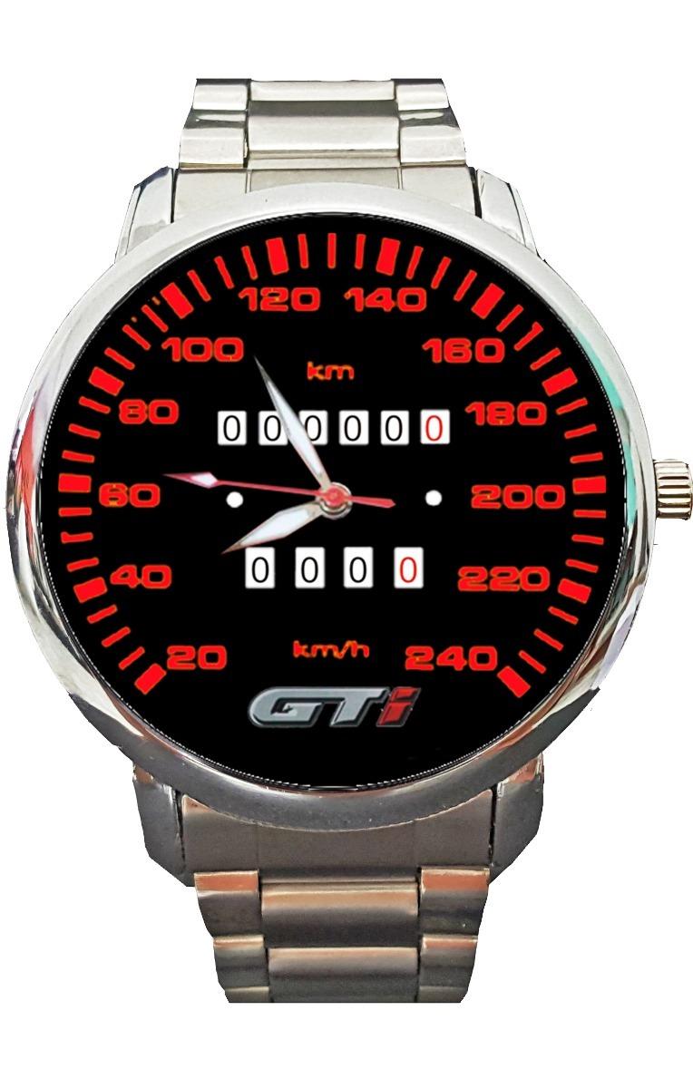 a7ab9738761 Relógio Painel Gol Gti Personalizado Frete Grátis - R  121