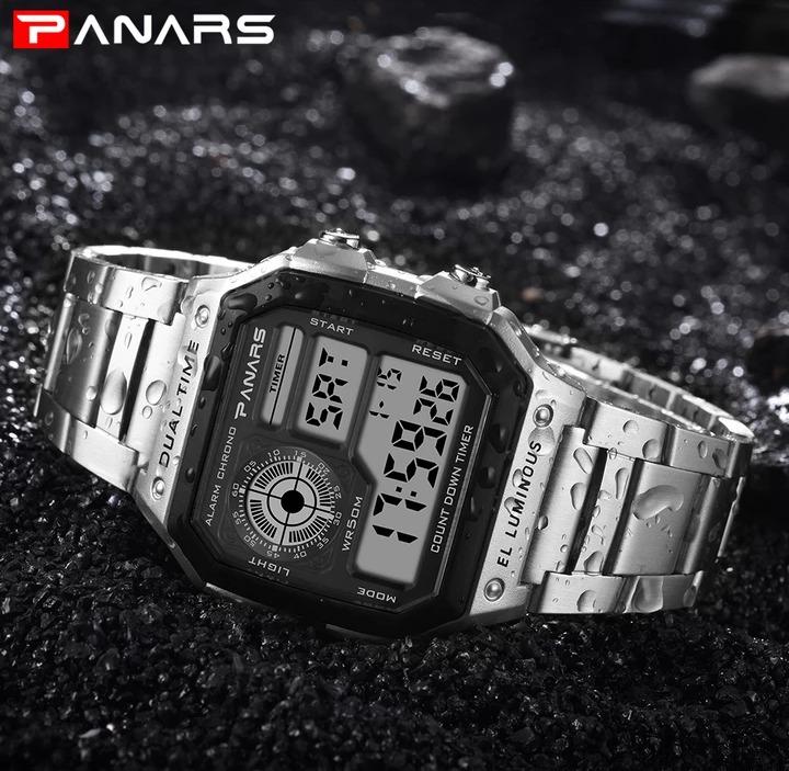 4d91a40db0f3 Relogio Panars Digital Prova D agua Tipo Casio Retro Barato - R  70 ...