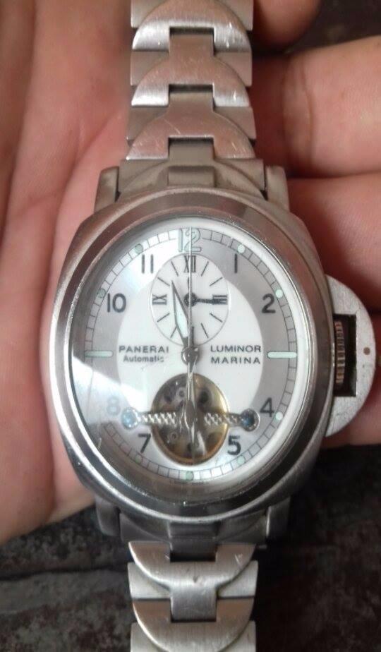 9d9f2b7c6ff relógio panerai luminor marina suiço. Carregando zoom.