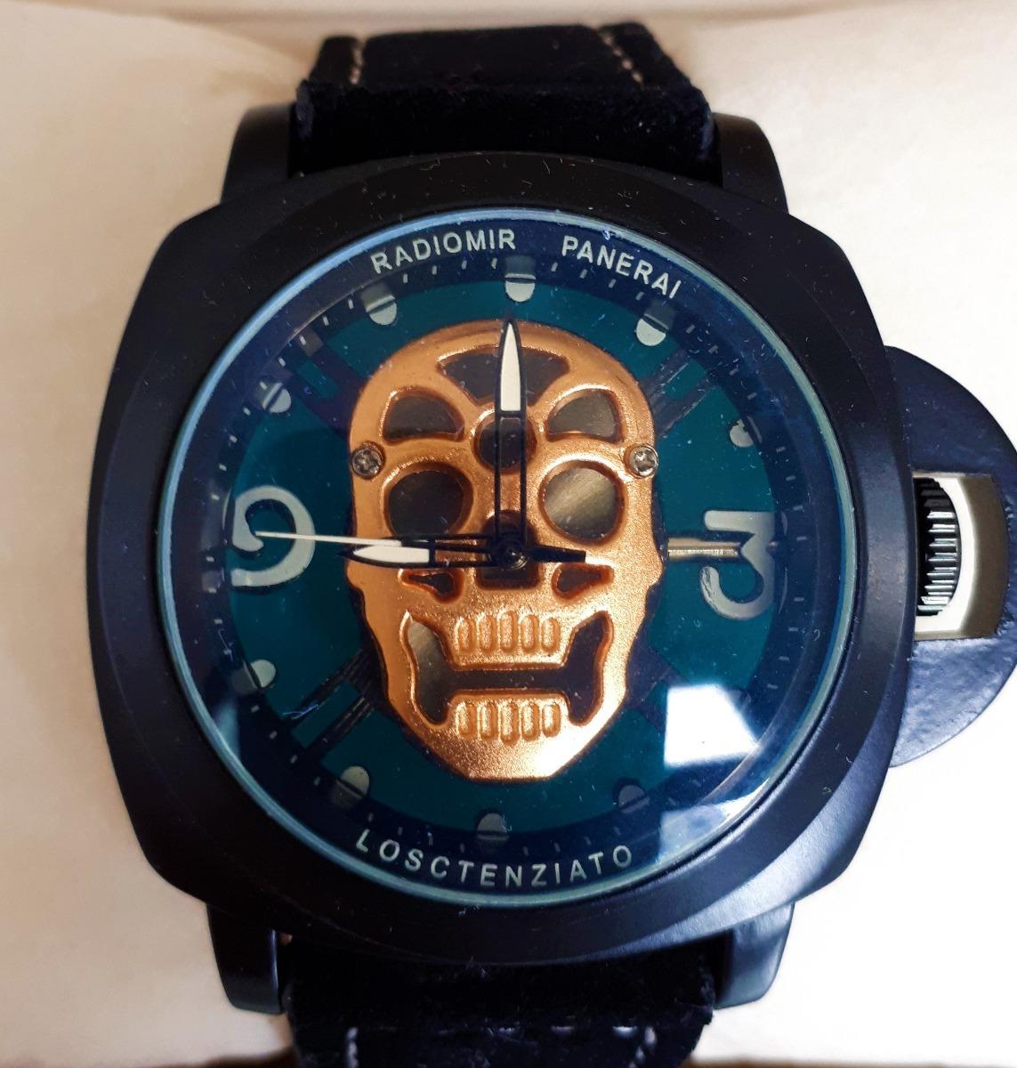 eb2bc6c5127 Relógio Panerai Radiomir - Esqueleto Caveira - P P Nautilus - R  499 ...