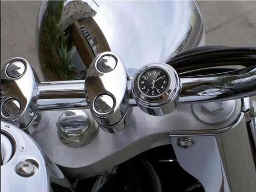 relógio para guidão moto motocicleta harley à prova d'gua