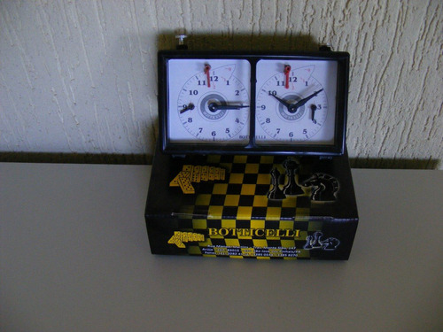 relogio  para jogo  de xadrez