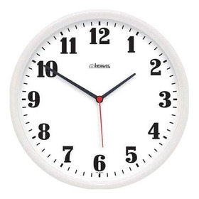 Relógio Parede Branco Para Cozinha 26 Cm Herweg 6126-21
