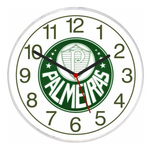relógio parede decorativo palmeiras barato escudo brasão