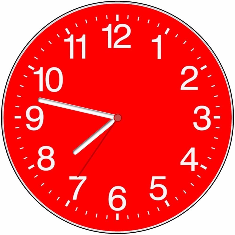 c125d54a1a7 relógio parede decorativo sala cozinha barato vermelho+cores. Carregando  zoom.