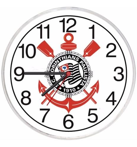 relógio parede diferente corinthians barato promoção retrô