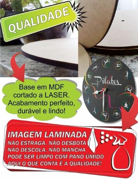 1cd21420b38 Relógio Parede Professor Inglês Teacher Escola Presente 30cm - R  45 ...