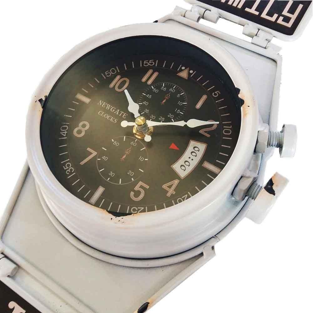 02b8f660ee7 ... pulso retrô branco com ganchos. Carregando zoom... relógio parede  relógio. Carregando zoom.