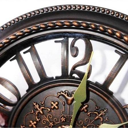 ca4bc0722c6 Relógio Parede Rústico Decorativo Vintage Retrô Grande - R  140