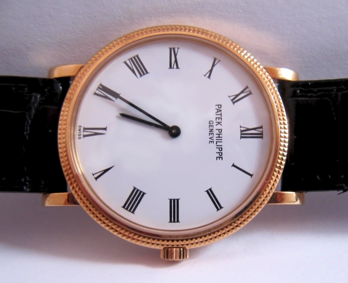 c5cf0326f19 relógio patek philippe 5120j-001 calatrava automático ouro. Carregando zoom.