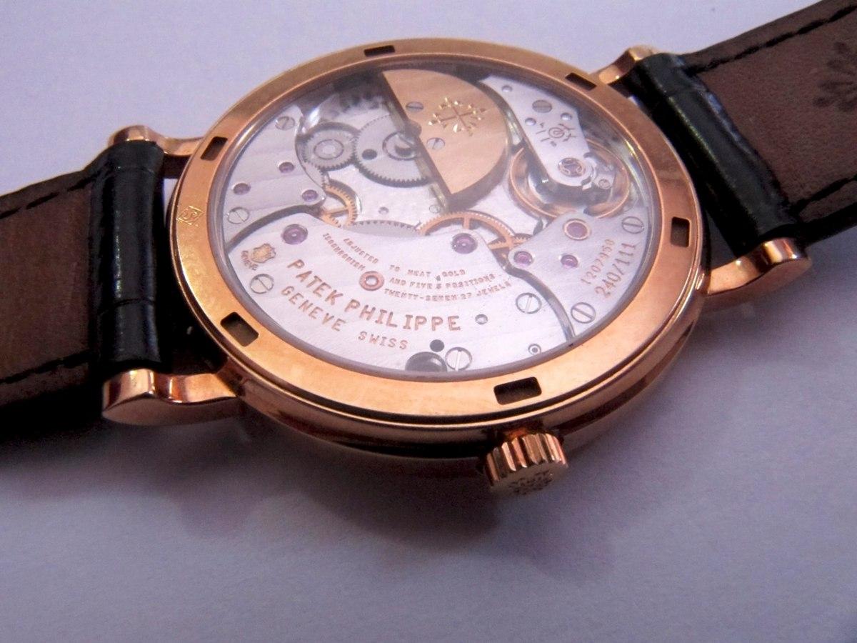 c4ee862b993 Relógio Patek Philippe 5120j-001 Calatrava Automático Ouro - R ...