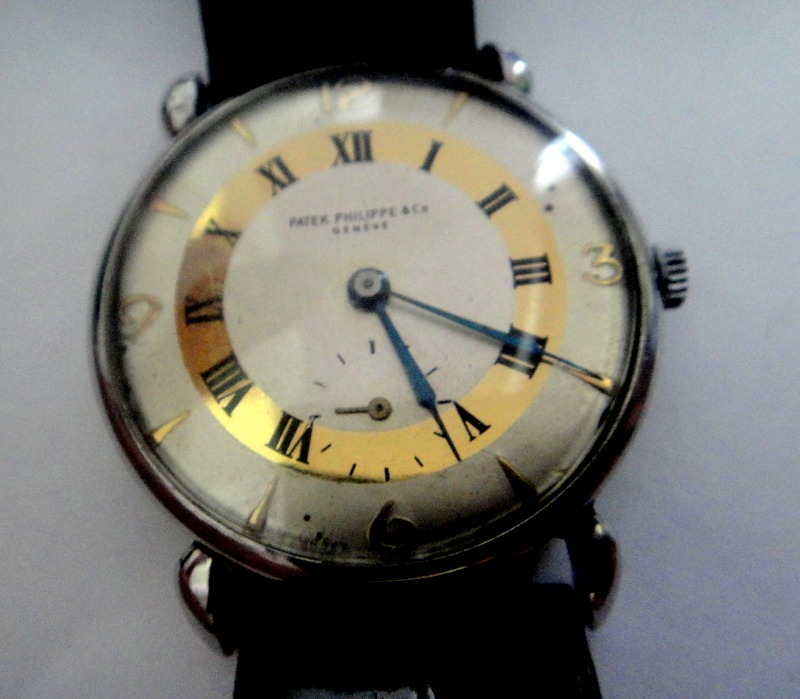 c9f56165b0e relógio patek philippe calatrava de aço vintage. Carregando zoom.
