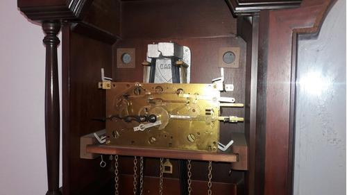 relógio pedestal urgos com banho de ouro
