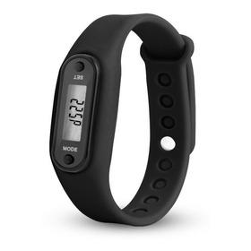 Relógio Pedômetro Digital Conta Passos Calorias Distância Km